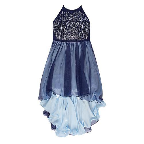 Girls 7-16 Speechless Tulle High-Low Dress