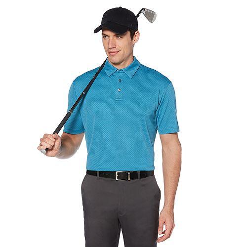 Men's Grand Slam DriFlow Regular-Fit Jacquard Performance Golf Polo