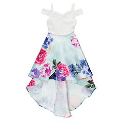 Girls 7-16 Speechless Floral Cold-Shoulder Dress