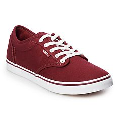 2431cf9ccd10 Vans Atwood Low Women s Skate Shoes. Burgundy Pewter