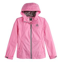 Girls 7-16 Zero Xposur Kelly Rain Jacket