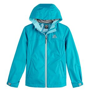 Girls 7-16 ZeroXposur Kelly Rain Jacket