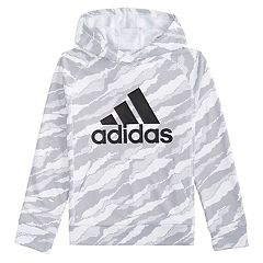 Boys 4-7x adidas Moto Camouflauged Pullover Hoodie
