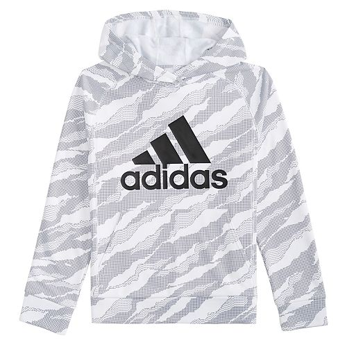 stable quality price reduced super specials Boys 4-7x adidas Moto Camouflauged Pullover Hoodie
