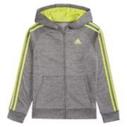 Boys 4-7x adidas Impact Indictor 18 Zip Hooded Jacket