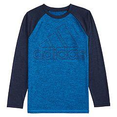 Boys 4-7x adidas Raglan Logo Performance Tee