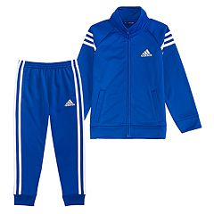 Boys 4-7x adidas Tricot Zip Track Jacket & Pants Set