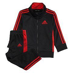 Boys 4-7x adidas Mock Layer Zip Track Jacket & Pants Set