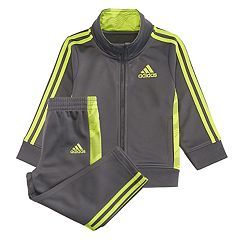 Boys 4-7x adidas Mock Layer Zip Track Jacket & Pants Set