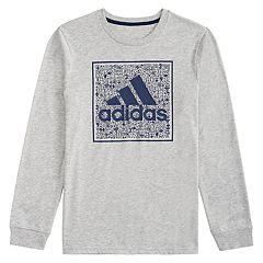 Boys 4-7x adidas Doodle Logo Graphic Tee