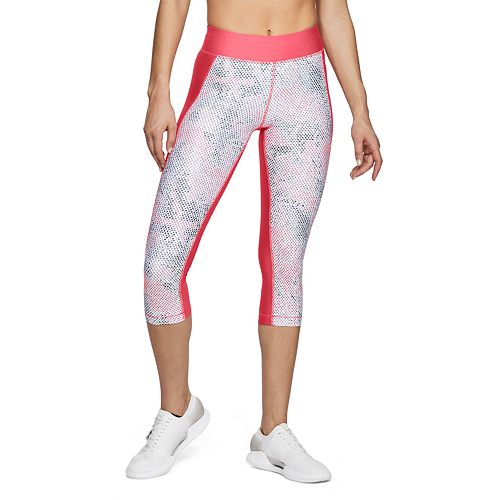 Women's Under Armour High Waisted HeatGear Print Capri Leggings