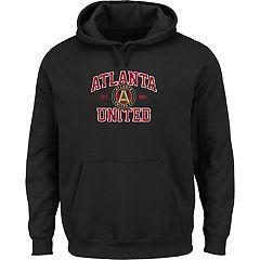 Men's Majestic Atlanta United FC Achievement Pullover Hoodie