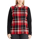 Plus Size Chaps Sweater Vest