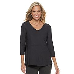 Women's Dana Buchman V-Neck Swing Top