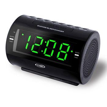 Dual Alarm Clock Radio With Nature Sounds