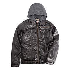 Boys 8-20 Levi's Heavyweight Moto Trucker Jacket
