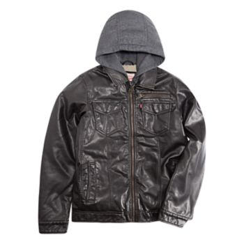Boys 8-20 Levi's Heavyweight Moto Trucker Jacket