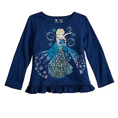 Disney's Frozen Elsa Toddler Girl Sequin Graphic Top by Jumping Beans®