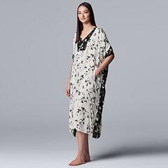 Women's Simply Vera Vera Wang Caftan Sleepshirt