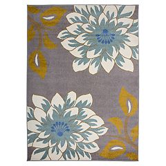 Nevada Transitional Floral Rug