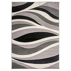 Nevada Wavy Contemporary Rug