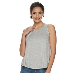 84bba81292d81 Petite Apt. 9® Essential High Neck Swing Tank