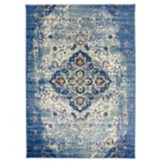 Nevada Distressed Medallion Rug