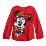 Disney's Minnie Mouse Girls 4-12 Flip-Sequin & Glitter Graphic Tee by Jumping Beans®