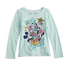 Disney Friends Girls 4-10 'Party Squad' Glitter & Sequin Graphic Tee by Jumping Beans®