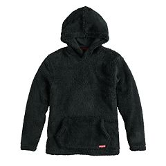 Boys 8-20 Black Jack Teddy Bear Sherpa Hoodie