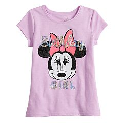 Disney's Minnie Mouse Girls 4-10 'Birthday Girl' Sequin Graphic Tee by Jumping Beans®