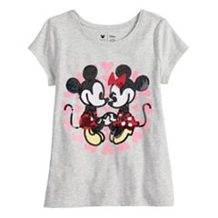 Disney's Mickey & Minnie Mouse Toddler Girl Sequined Graphic tee by Jumping Beans®