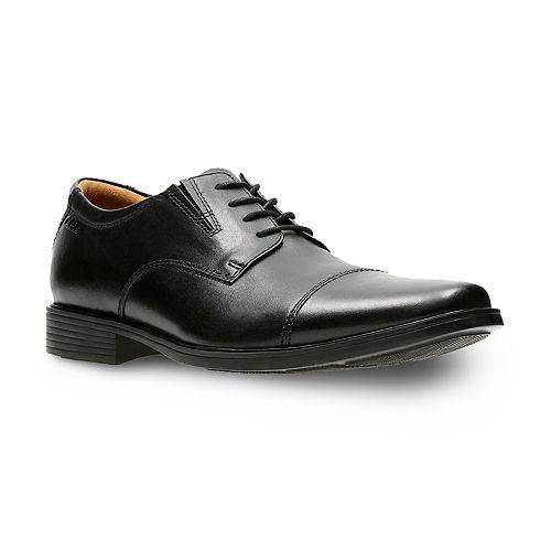 Clarks Tilden Men's Ortholite Cap Toe Dress Shoes