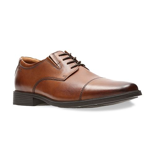 Clarks Tilden Men's Ortholite Cap Toe Dress Shoes