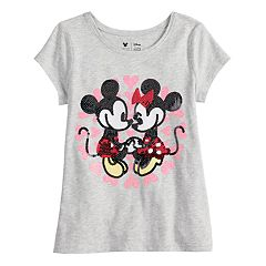 Disney's Mickey & Minnie Mouse Girls 4-10 Sequined Graphic tee by Jumping Beans®