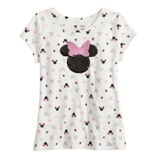 Disney's Minnie Mouse Girls 4-10 Print & Flip-Sequin Tee by Jumping Beans®