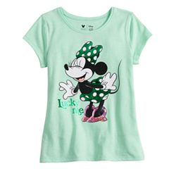 Disney's Minnie Mouse Toddler Girl Foiled & Sequin Graphic Tee by Jumping Beans®