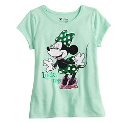 Disney's Minnie Mouse Girls 4-10 Foiled & Sequin Graphic Tee by Jumping Beans®