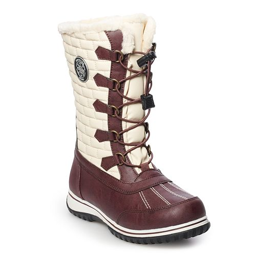 totes Wendy Women's Water Resistant Winter Boots