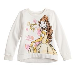 Disney's Beauty And The Beast Toddler Girl 'Dream Big' Softest Fleece Sweatshirt by Jumping Beans®
