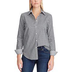 Women's Chaps No-Iron Broadcloth Shirt