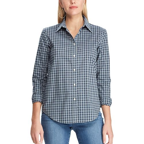 Women's Chaps No-Iron Broadcloth Shirt