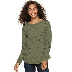 Petite SONOMA Goods for Life™ French Terry Crewneck Sweatshirt