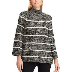 Women's Chaps Mockneck Swing Sweater