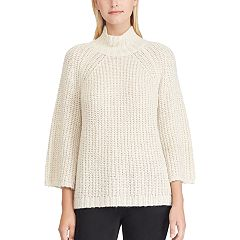 Women's Chaps Mockneck Swing Sweater