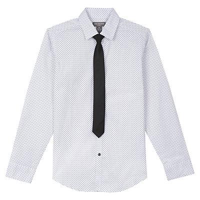 Boys 8-20 Van Heusen Shirt & Tie Set