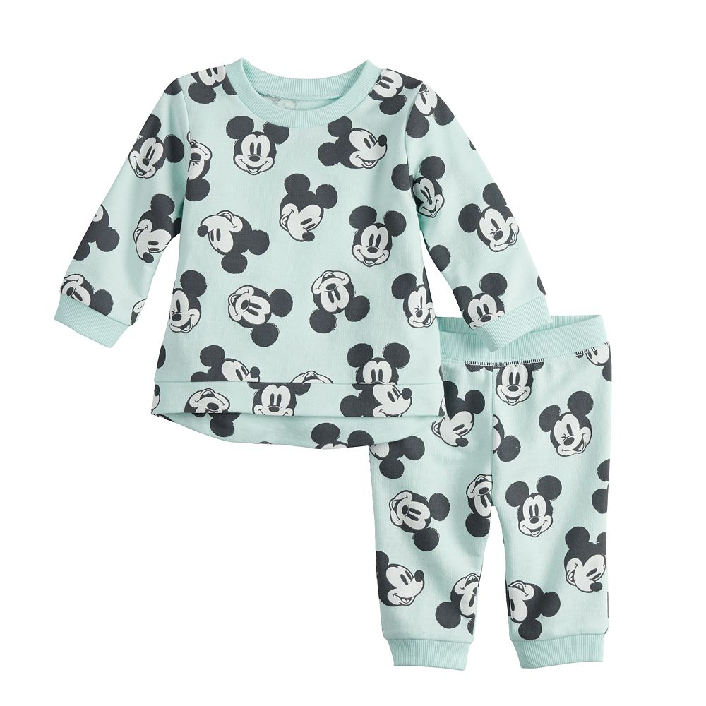 Disney's Mickey Mouse Baby Boy Top & Jogger Pants Set by Jumping Beans®