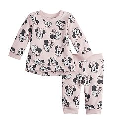 Disney's Mickey Mouse Baby Girl Top & Jogger Pants Set by Jumping Beans®