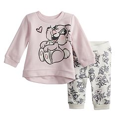 Disney's Bambi Baby Girl Thumper Graphic Sweatshirt & Pants Set by Jumping Beans®