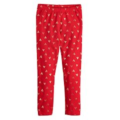 4eb75d5760217 Girls Red Kids Leggings Bottoms, Clothing | Kohl's
